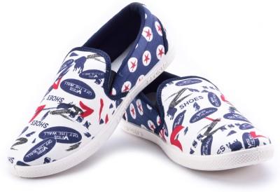 Maxis Cool Black Mocassins Canvas Shoes