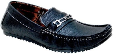 Oora Stylish Black Loafers