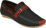 Pureits Leathers Loafers (Black)