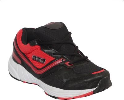 Hi Speed Hi Speed 0003 Black Red Running Shoes
