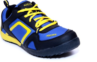 Richer Rr-Star-Blk-Blu-Ylw Running Shoes