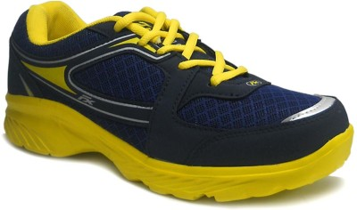 RCI Yellow and Navy Mens Running Shoes