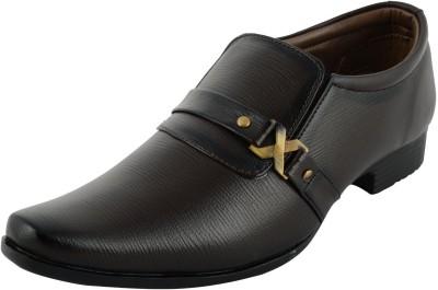 speise black formal shoes slip on brown