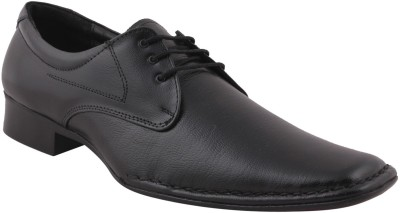 Maly M-6-BLACK Lace Up