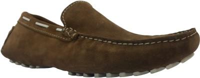 Isleekie Tan Moccasins Loafers