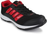 Air Space Running Shoes (Black, Red)