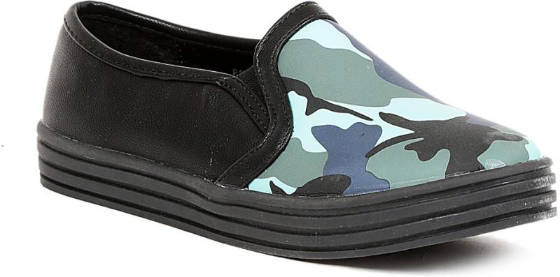Footash Canvas Shoes(Black)
