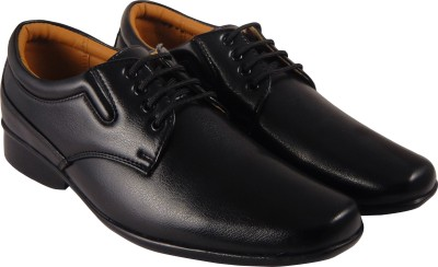 Action Synergy PL4477 Black Formal Lace Up(Black)