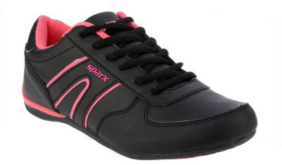 Sparx Stylish Black & Pink Running Shoes(Black, Pink)