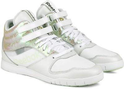 Reebok Dance Urlead Mid Se Dance Shoes(White, Multicolor, Silver)