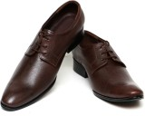 C Comfort Leather Lace Up Shoes (Brown)