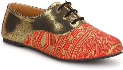 Chalk Studio Chalk Studio Oxford Venetian Red Casual Shoes Casuals