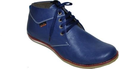 Racing Stylish Blue Boots