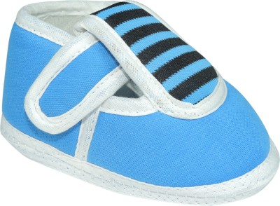 Ole Baby Striped Printed With Velcro Closure Outdoor Shoes