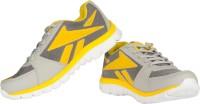 Ros 1124 Grey Yellow Walking Shoes
