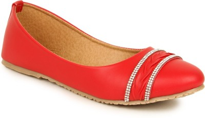 Lovely Chick Lovely Chick RED Women Casual Ballerinas AB-CHAINPTA-RED Bellies