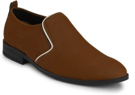 ElPaso Stylish & Comfort Look Men's Synthetic Casual Shoe Casuals(Brown)