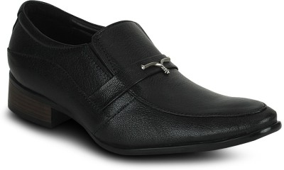 Kielz Kielz Black Formal Slip-Ons Shoes Corporate Casuals