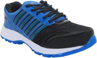 Stepin Soles Galaxy-3 Blue/Black Running Shoes