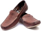 Vogue Guys Brown Stunning Pointed Loafer...
