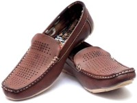 Vogue Guys Brown Stunning Pointed Loafers
