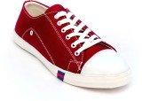 TheWhoop Casual Canvas Shoes (Maroon)