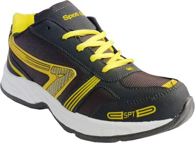Spot On FKSP-E-246-GRY-YLW Running Shoes