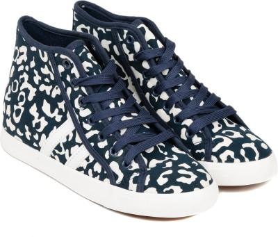 TEN Blue Fabric Shoes