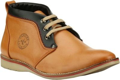 Step Mark FCA-5008-TAN-BLACK Casuals Shoes