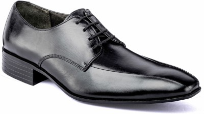 Nudo Black Formal Lace Up Shoes