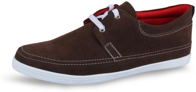 Stud Brown Casual Shoes