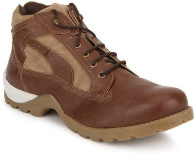 Knotty Derby Goyle Ankle Boots(Tan)