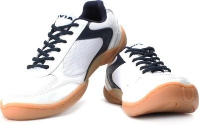 Nivia Flash Badminton Shoes(Blue, White)