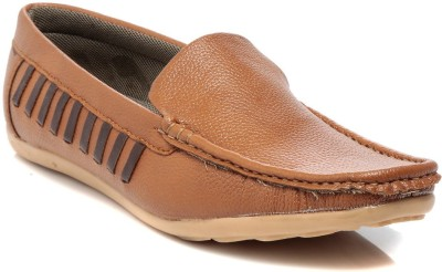 TEN Tan Leather Loafers Loafers