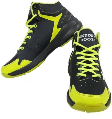 Vector X Basketball Shoes(Black, Green)