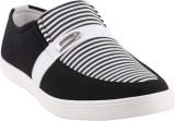 Satya Sales Canvas Shoes (Black, White)