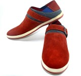 TheWhoop Mens Premium Shoes Casuals (Red...