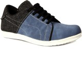 Sole Strings Mens Casual Shoes (Blue)