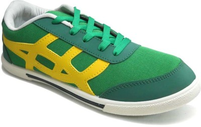 TerraVulc Green and Yellow Canvas Shoes