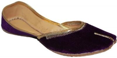 Authority Purple Velvet Jutis