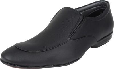 Molessi Black Formal Slip On Shoes