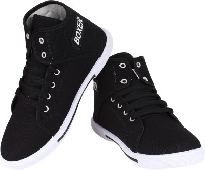 Super Matteress Boxer-303 Canvas Shoes(Black)