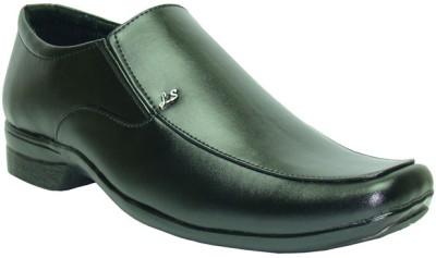 Winkel Black Formal Slip On Shoes