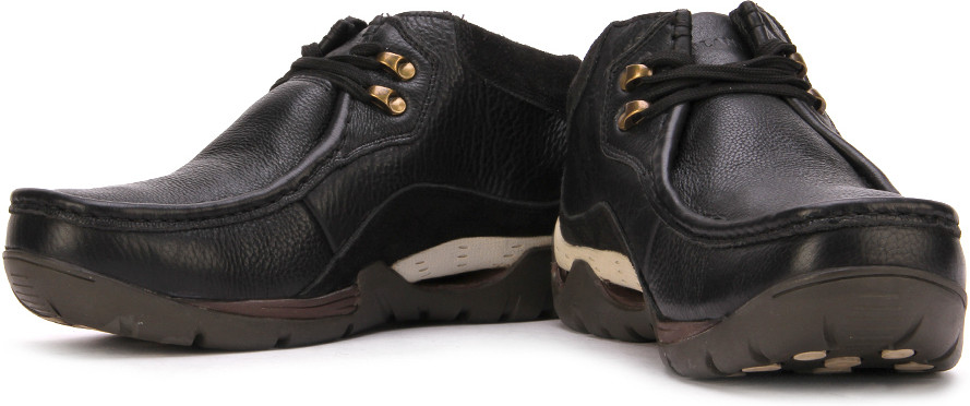 Woodland Outdoor Shoes(Black)