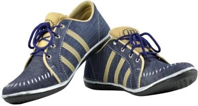 Alpha Man Denim Casuals Shoes