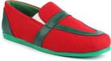Series Jove Pious Casual Shoes (Red, Gre...
