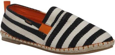 Zobello Awning Stripe Spanish Espadrilles Casual Shoes