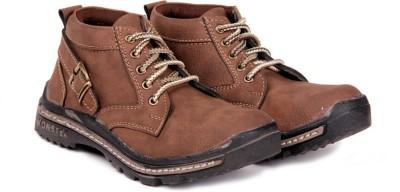 Do Bhai woodshoe-Tan Boots Boots