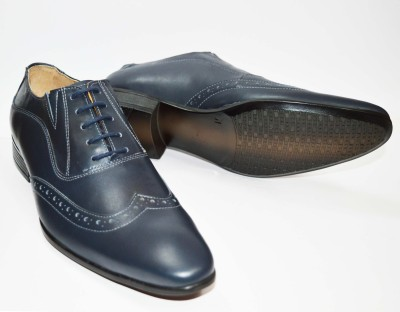 stride Brogue Lace Up Shoes