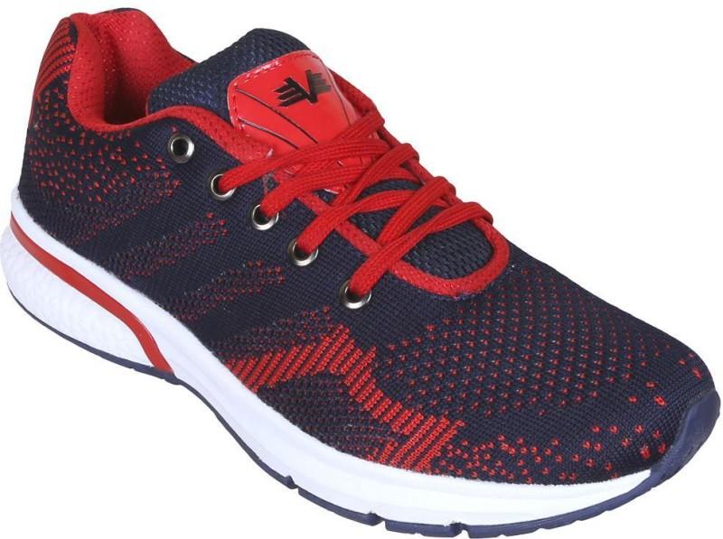 Vijayanti V Knit 30 Running ShoesNavy Red